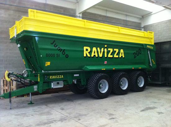 Ravizza rimorchi pronta consegna for Ravizza rimorchi